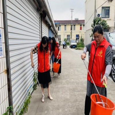 助推生活垃圾分类 展现志愿活动风采